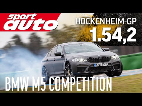 BMW M5 Competition | Hot Lap Hockenheim-GP | sport auto