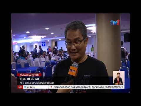 N8 – RIDE TO DUBAI – MISI BANTU KANAK-KANAK PAKISTAN [19 JAN 2019]