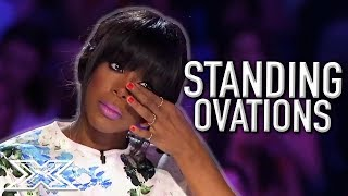 SENSATIONAL Standing Ovations On The X Factor! | X Factor Global