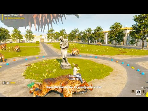 Serious Sam 4 - Riding a Khnum & Sirian Werebull Gameplay (Serious Sam 4 2020 PC Gameplay) |