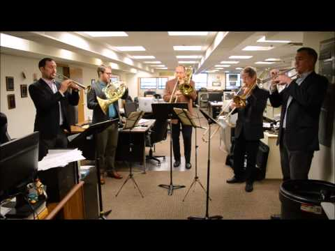 Newsroom Concerts No. 2: American Brass Quintet