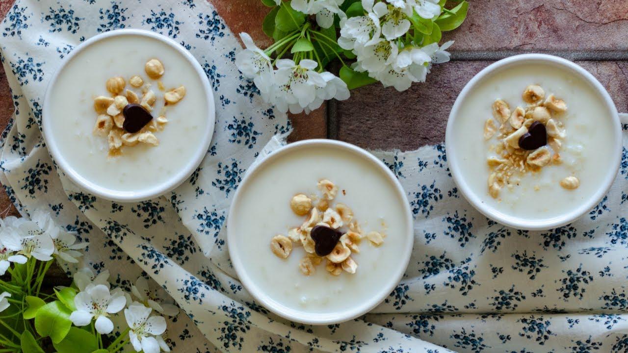 Anne Sütlacı (Nişastasız)-Sütlü Tatlı Tarifleri