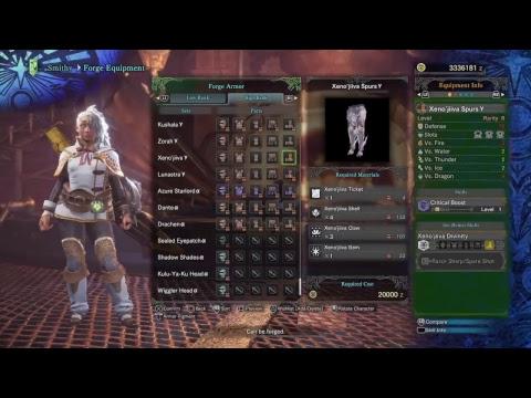 Monster Hunter Winter Star Fest Event Arch Tempered Xenojiva thumbnail