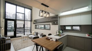 [4k] 집에서 힐링하는 오픈형 복층 타운하우스 Open living room  Korea TownHouse (ENG SUB)