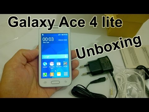 Samsung Galaxy Ace 4 lite - O Que Vem na Caixa? [Unboxing Brasil]