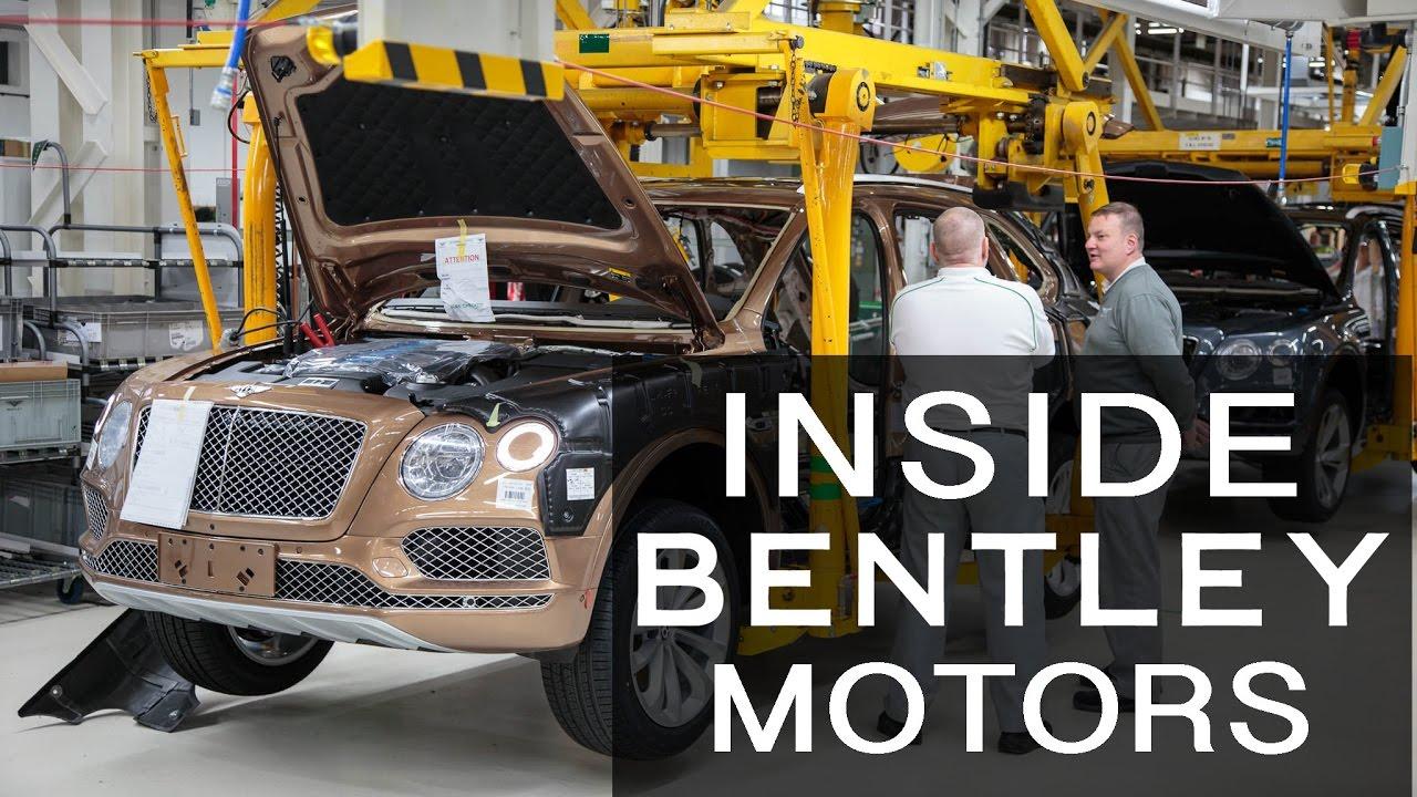 Inside bentley motors motor verso factory tour youtube for How to watch motors tv online
