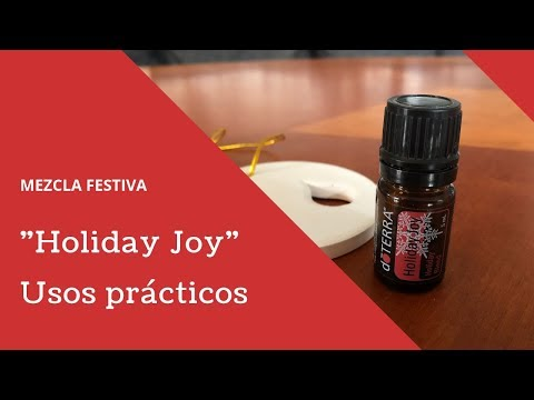 Como usar Holiday Joy