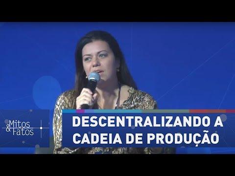 Janaina Rueda Valoriza Pequenas Empresas Descentralizando A Cadeia De Produção | Mitos E Fatos