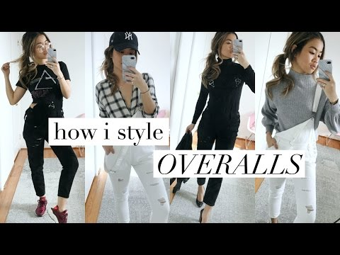 HOW I STYLE: OVERALLS | Rachspeed