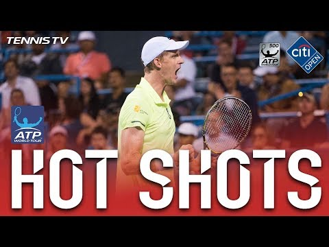 Hot Shot: Anderson Cleans The Line At Washington 2017
