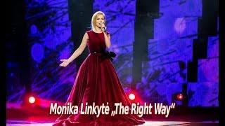 """Atlikėja Monika Linkytė atliko muzikinį kūrinį """"The Right Way"""""""