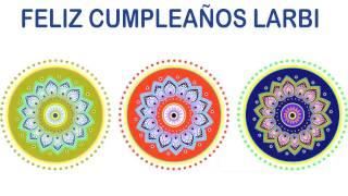 Larbi   Indian Designs - Happy Birthday