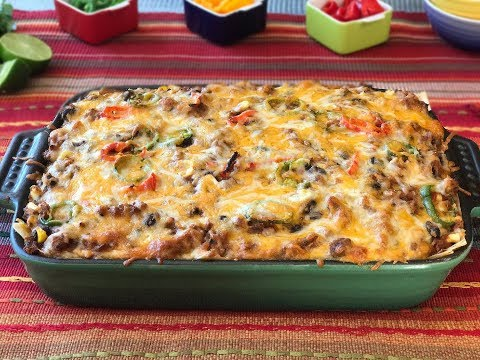 Poultry and Black Bean Taco Casserole