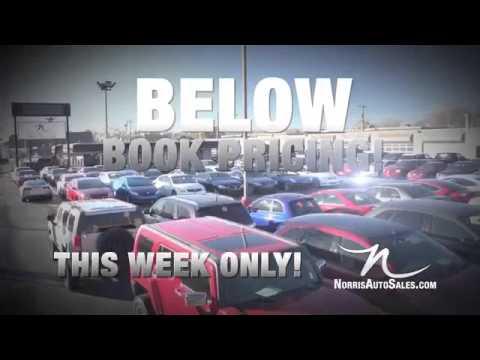 HUGE SAVINGS EVENT @ NORRIS AUTO SALES