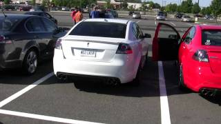 Pontiac G8 Exhaust Compilation 2nd Edition Part 1.MTS