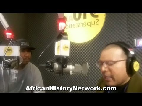 Michael Imhotep discusses Detroit 'Black Panther' Lecture with Spudd 910 AM, 4-12-18
