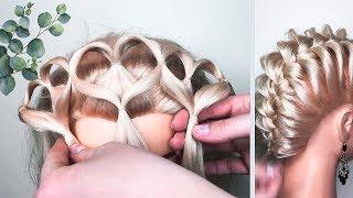 🌿4 ПРИЧЕСКИ в Школу на КОРОТКИЕ ВОЛОСЫ.🌿 Back to School Short Hairstyles  ©LOZNITSA