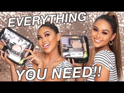 DRUGSTORE MAKEUP STARTER KIT (for beginners) | Roxette Arisa
