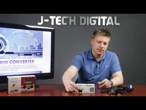 J-Tech Digital Component Video-YPbPr And VGA To HDMI Upscaling Converter