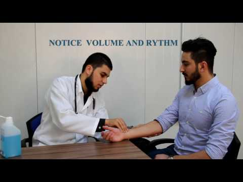 How to check radial pulse OSCE GUIDE