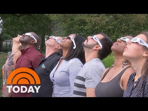 Eclipse Fever: Cities Along 'Path Of Totality' Prepare For Flood Of Tourists | TODAY