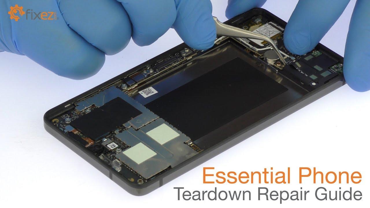 Essential Phone Teardown Repair Guide Fixezcom Youtube Accu Drive Led Dimmer Switch Wiring Diagram Premium
