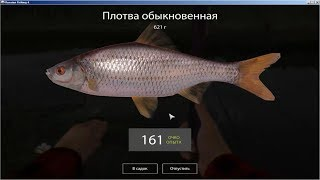 Русская Рыбалка 4 Старый Острог Трофейный Угорь. Как быстро прокачаться до 20 уровня #10
