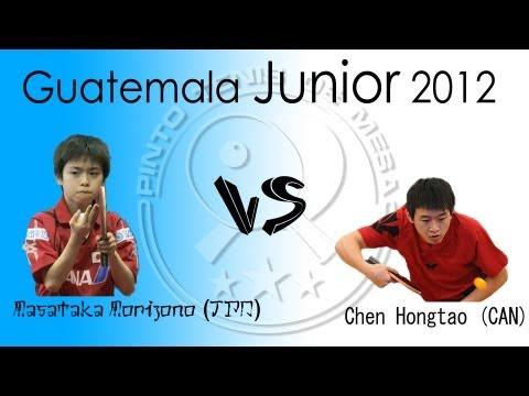 Guatemala Junior Finals 2013: Chen Hongtao vs. Morizono Masataka