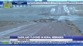 Nebraska farmland flooded