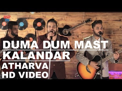Duma Dum Mast Kalandar | Sufi Music | Folk Songs | Atharva The Band | USP TV