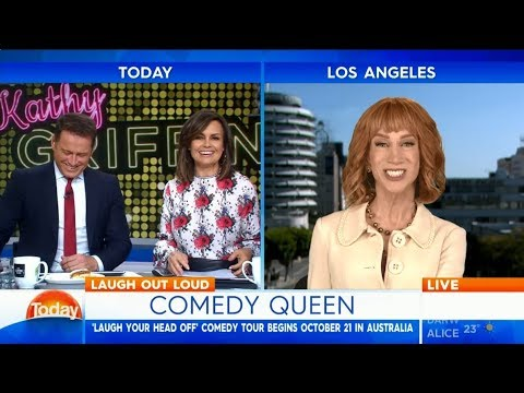 Kathy Griffin: Comedy, Trump and touring Australia - Karl Stefanovic