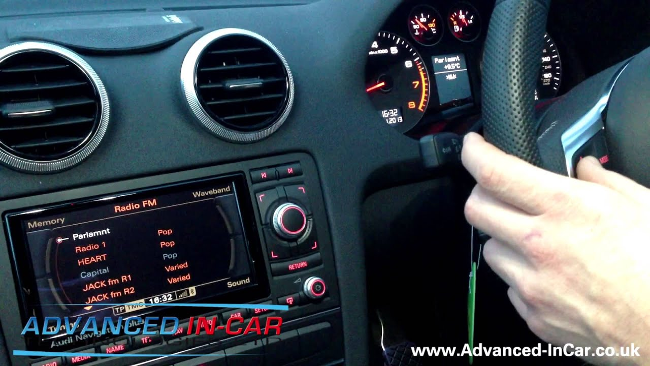 audi autodab digital radio retrofit audi a3 s3 rs3 rns e rh youtube com