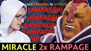 Miracle DOUBLE RAMPAGE — when M-GOD picks his BEST Anti-Mage