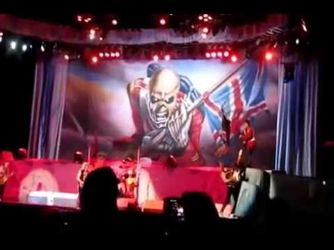 """Iron Maiden """"The Trooper"""" En River Buenos Aires Argentina 27/09/2013"""