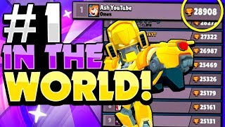 The BEST Pro Player In The WORLD! - Grinding With The #1 Player In Brawl Stars!