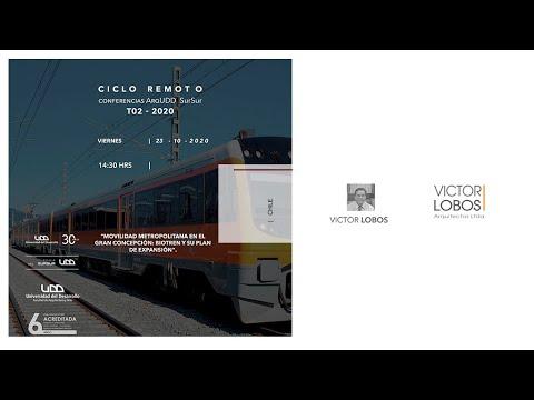 Conferencia SurSur: Victor Lobos para Arquitectura UDD SurSur, Concepción.