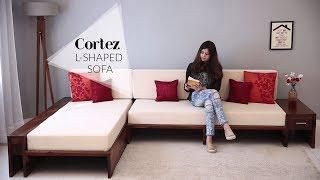 Sofa Set: Cortez L Shaped Sofa Set | Sofa Set Designs For Living Room 2019 | Sofa Set Online
