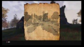 The Elder Scrolls Online: Cyrodiil Treasure Map 9 Location