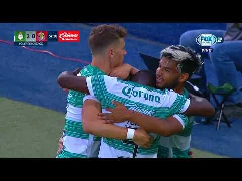 Gol Gorriarán | Santos Laguna 2 - 0 Chivas | Liga MX - Guardianes 2020 - Jornada 2 | LIGA BBVA MX