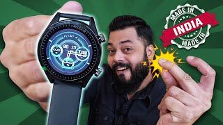 This Made In India Smartwatch Is Gesture Controlled ⚡⚡⚡ Ft. WatchOut MadGaze Gesture Watch