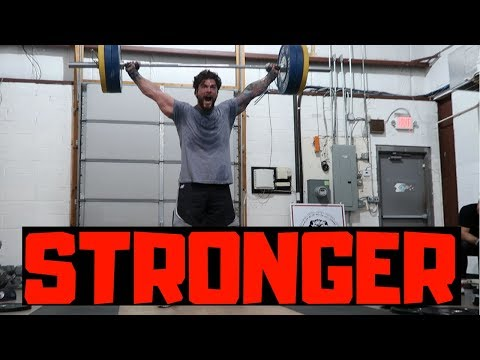 Getting Strong(ish) Training Footage