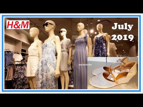 H&M New Dresses and Summer Collection July 2019 I Shop with Me