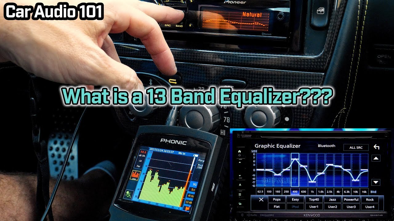 What is a 13 Band Equalizer? - Car Audio 101