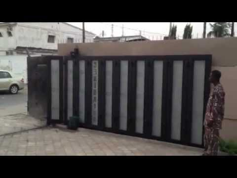 Automatic Sliding Gate Opener Door And Garage Systems Access Controls Traffic Barriers Youtube