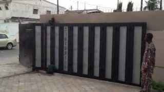 Automatic Sliding Gate Opener, Door And Garage Systems.access Controls.traffic Barriers
