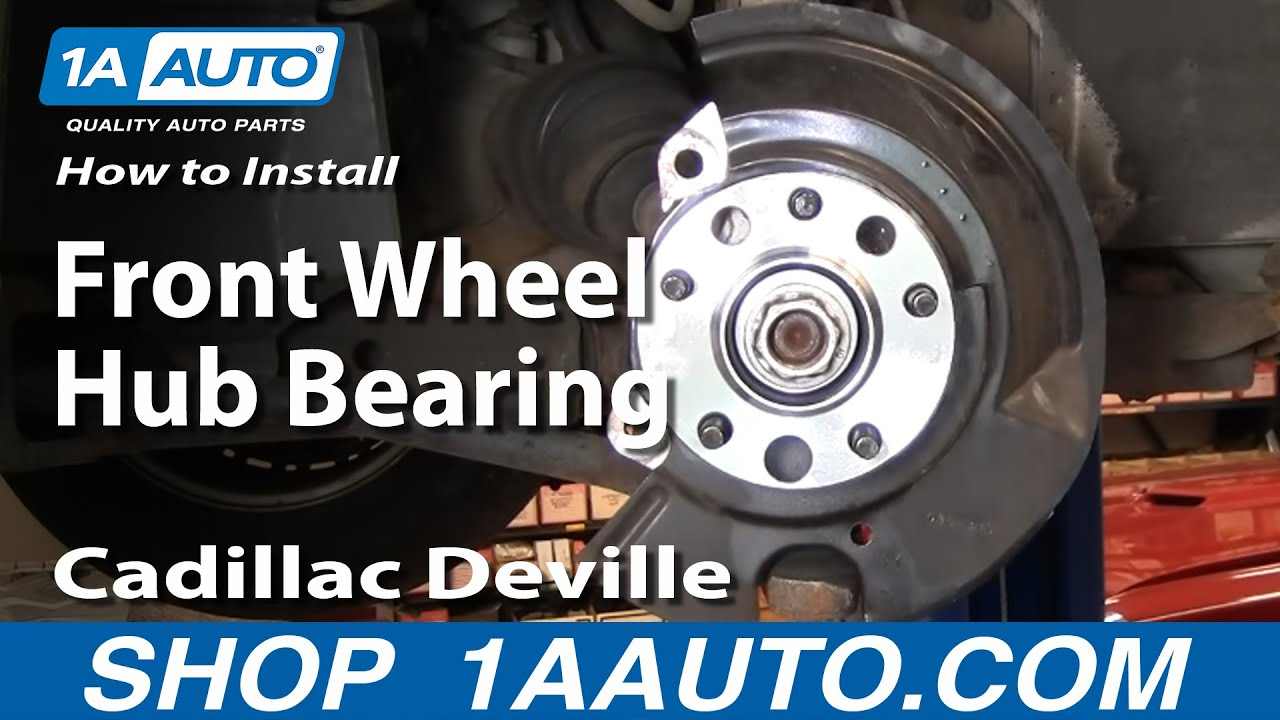 How To Replace Wheel Bearing Amp Hub Part 2 97 99 Cadillac