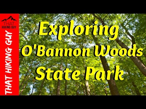 Exploring O'Bannon Woods State Park