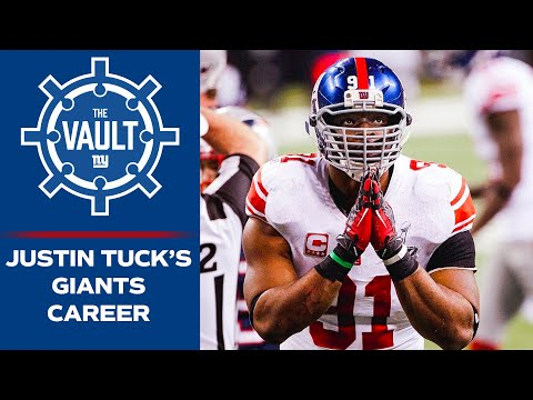 Justin Tuck Reflects On His Giants Career & Super Bowl Victories | New York Giants