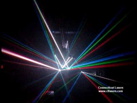 1 WATT RGB Laser. CT. Lasers