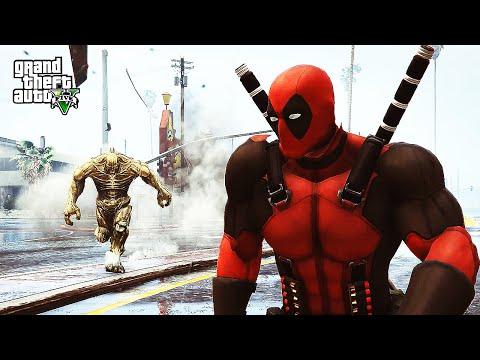 Deadpool GTA Line